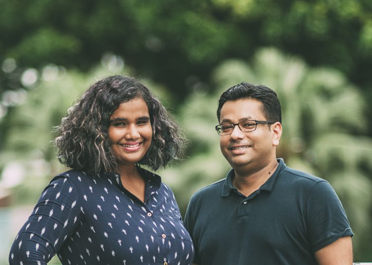 Coopita's Mayur Singh (right) with co-founder Naomi Jacob. Image: Coopita