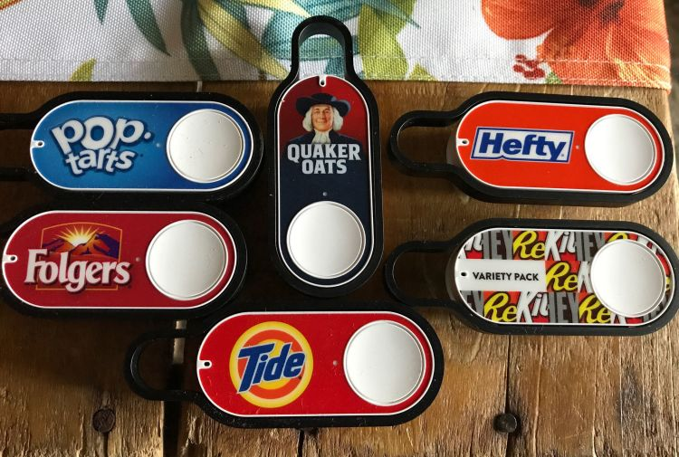 A collection of Amazon Dash buttons. Image: Forsaken Fotos, CC BY 2.0